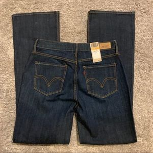 Levis 525 Perfect Waist Bootcut Size 8 Medium